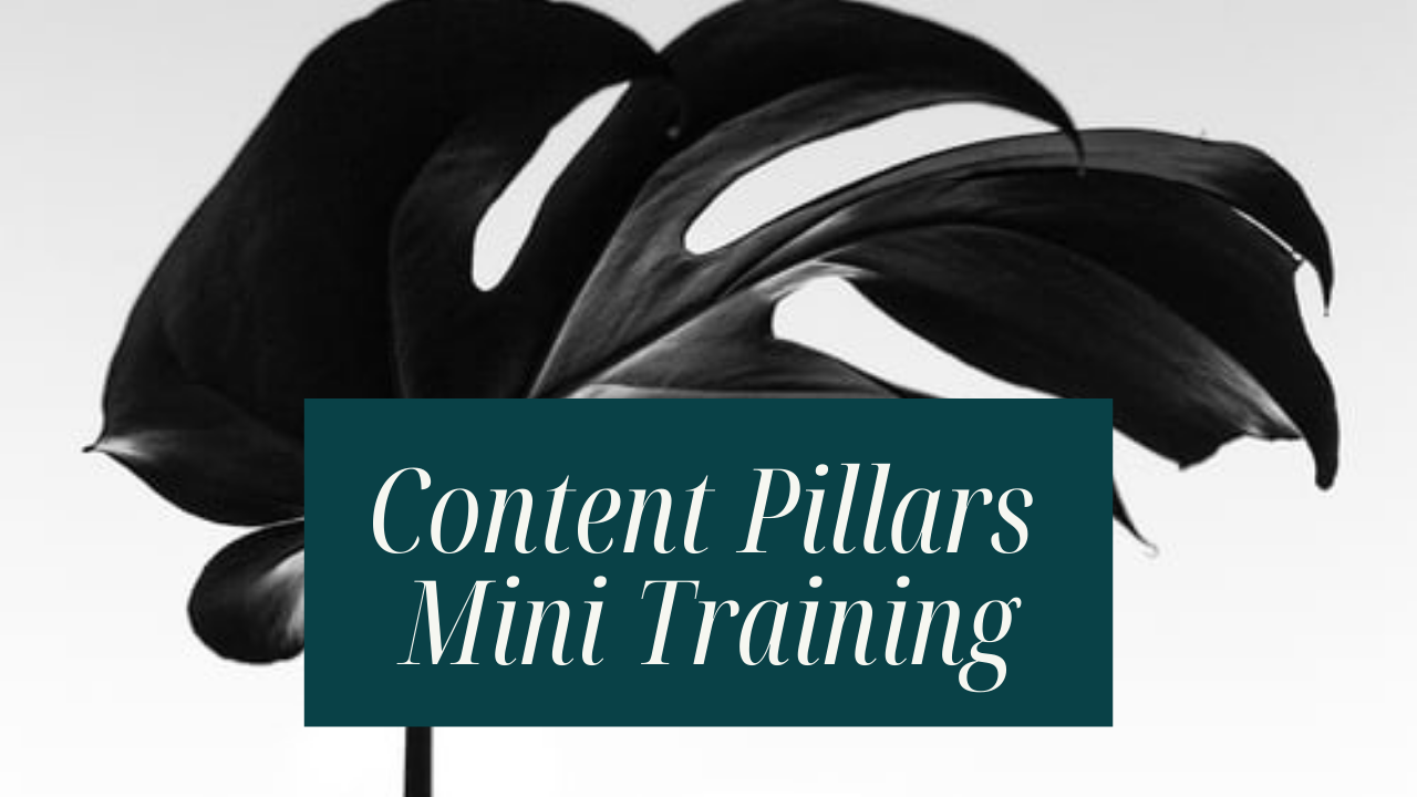 Free Content Pillars Training